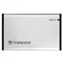 "Transcend Carcasa Disco Duro / Disco Sólido 2.5"" con puerto USB 3.0 (UASP)"