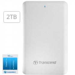 Transcend 2TB Disco Duro Portátil Thunderbolt StoreJet SJM300