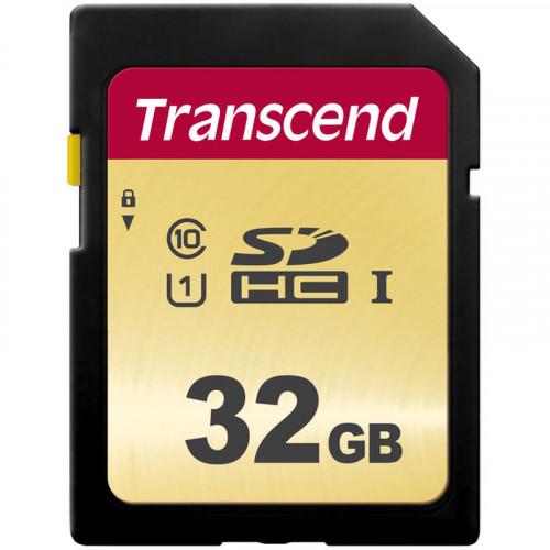 Transcend SDXC/SDHC 500S 32GB UHS-1 U3 V30