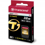 Transcend SDHC Ultimate 32GB Class 10 UHS-1 Lectura 95MB/s U3