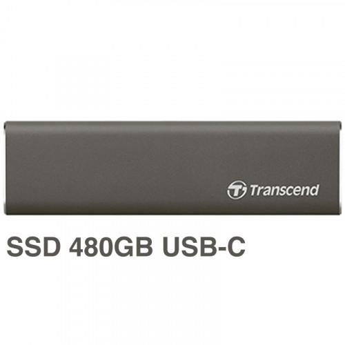 Transcend Storejet 600 SSD 480GB  Portable USB-C TS480GSJM600