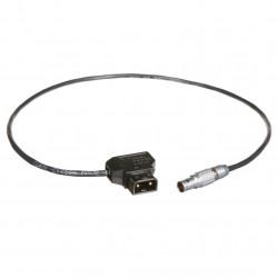 Teradek Conector 2 Pin Lemo a D-Tap de 45cm