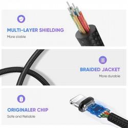 Ugreen 30756 Adapter  Lighting para dispositivos iOS y conector TRRS 3.5mm