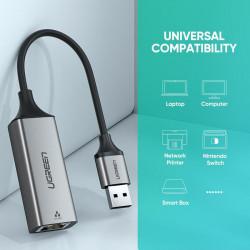 Ugreen 50922 Adaptador USB-A (3.0) a Ethernet Gigabit LAN
