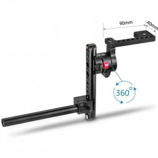 SmallRig 1587B Soporte EVF para rods de 15mm