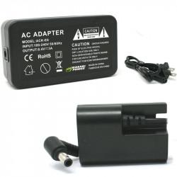 Wasabi ACK-LPE6DC Adaptador AC para Canon LP-E6 (dummy) Decodificado