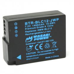 Wasabi BLC-12 2 Baterías y Cargador para DMC Panasonic
