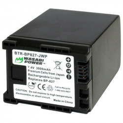 Wasabi BP-827 Batería para Canon Video compatible BP-827
