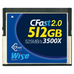 Wise CFA -5120 Tarjeta CFast 2.0 de 512GB