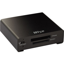 Wise WA-CXS07 Lector de Tarjeta CFexpress (tipo B) + SDXC USB 3.2