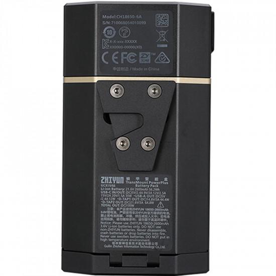 Zhiyun CH18650-6A Batería TransMount PowerPlus V-mount