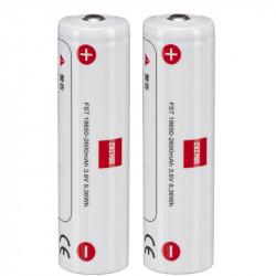 Zhiyun 18650 Batería de iones de litio (paquete de 2)