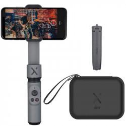 Zhiyun-Tech Smooth X Kit Gimbal ultracompacto para Smartphones con mini tripode
