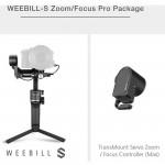 Zhiyun-Tech Weebill S Focus Pack Gimbal hasta 3kgs