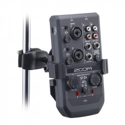 Zoom AIH-1 Soporte de interfaz de audio para U-Series