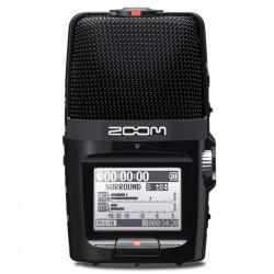 Zoom H2N Grabador Audio Portátil con 5 mic incorporados