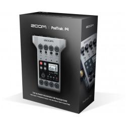 Zoom PodTrak P4 Grabador Podcasts multipista portátil