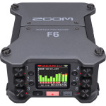 Zoom F6 Grabador Audio 6 Entradas / 14 Canales Multi Track 32-Bit Float Recording