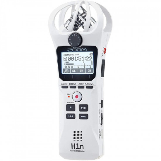 Zoom H1N-W Grabador Audio Ultra Portátil