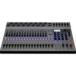 Zoom LiveTrak L-20  Mezclador digital de 20 canales y grabador multipista