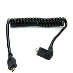 Atomos ATOMCAB005 Cable micro HDMI a micro HDMI 30cm - 45cm coiled