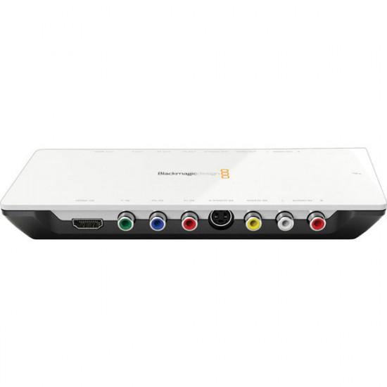 Blackmagic Design Intensity Shuttle Captura y reproducción Thunderbolt™ en HDMI y analógo