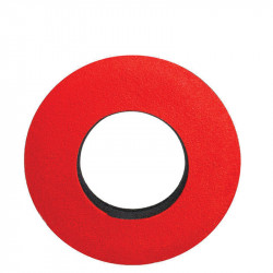 Blue Star 20102 Round Extra Small de Microfibra Eyecushion Rojo