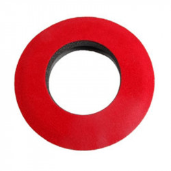 Blue Star 20132 Round Large de Microfibra Eyecushion Rojo