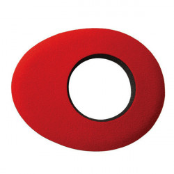 Blue Star 90142 Oval Small de Microfibra Eyecushion Rojo