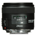 Canon EF 24mm f/2.8 Lente IS USM Gran Angular