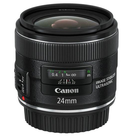 Canon EF 24mm f/2.8 Lente IS USM Gran Angular