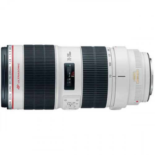 Canon Lente Zoom EF 70-200mm f/2.8L II USM Telephoto con estabilizador
