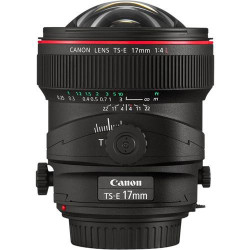 Canon TS-E174L Lente Tilt-Shift TS-E 17mm f/4L New TS Rotation +/- 90
