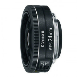 Canon Lente EF-S 24mm f/2.8 STM Ultra Compacto 125 gramos