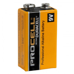 Duracell ProCell 9V Batería Alkalina Professional