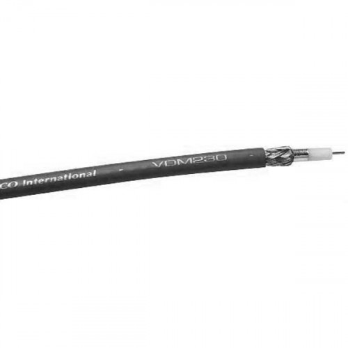 Gepco VDM230  Rollo Cable Ultra Delgado RG59 75ohm Mini RG59 SDI