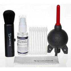 Giottos Kit de limpieza de lentes  Rocket Air, Brocha, Líquido e isopos