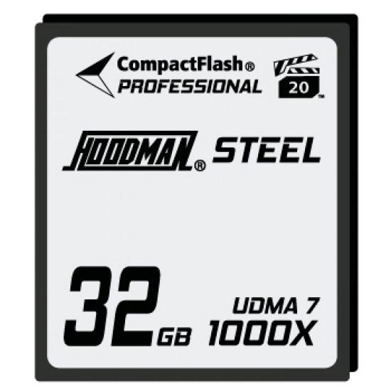 Hoodman HS7CF32 Tarjeta Compact Flash UDMA 7 RAW de 32GB 1000x