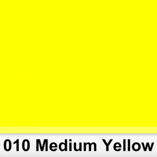 Rosco 010SR Pliego Amarillo Medio 50cm x 60 cm