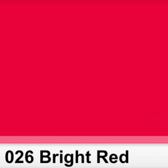 Rosco 026SR Pliego Bright Red 50cm x 60 cm