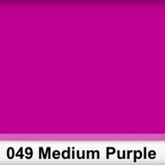 Rosco 049SR Pliego Medium Purple 50cm x 60 cm