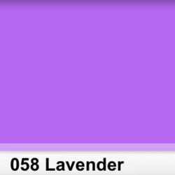 Rosco 058SR Pliego  Lavender 50cm x 60 cm
