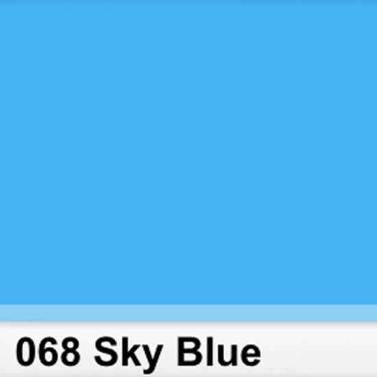 Rosco 068SR Pliego Sky Blue 50cm x 60 cm