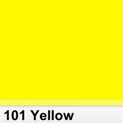 Lee Filters  101S Pliego Yellow  Amarillo 50cm x 60 cm