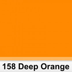 Lee Filters  158S Pliego Deep Orange 50cm x 60 cm