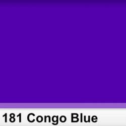 Rosco 181SR Pliego  Congo Blue 50cm x 60 cm