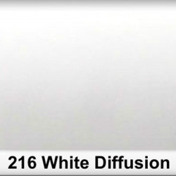 Rosco 216SR Pliego White Diffusion 50cm x 60 cm