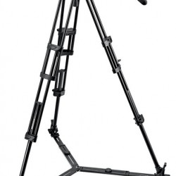 Manfrotto 504HD-546GBK cabezal 504HD con trípode 546GB y estrella de piso