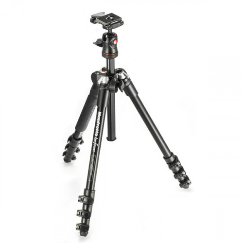 Manfrotto Befree Trípode Compacto Befree ideal para viajes MKBFRA4-BH