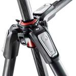 Manfrotto MT190XPROKIT500  Trípode MT190XPRO3 y Cabezal MVH500 Capacidad 5kg.